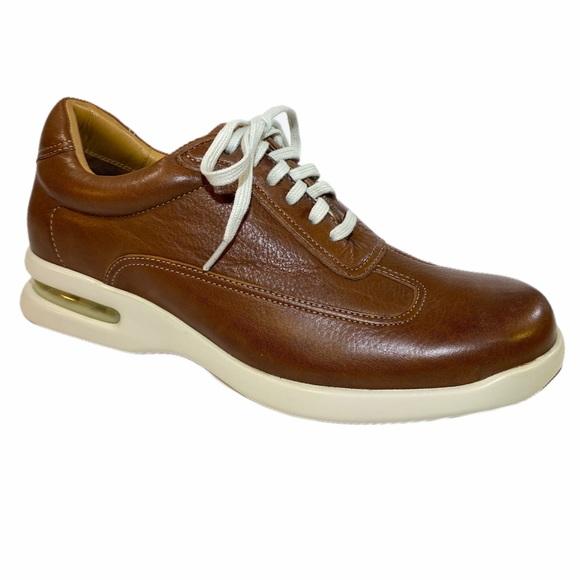 Cole Haan Men's Cognac Brown Leather Sneakers 7.5M